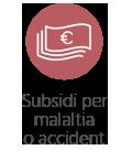 Subsidi per malaltia o accident