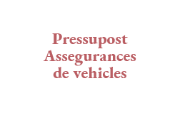 pressupost vehicle